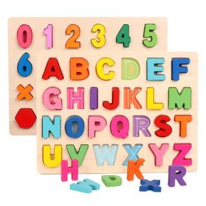 đồ chơi ghép chữ cho bé