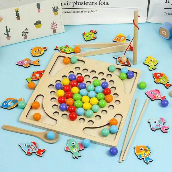 đồ chơi câu cá ghép hình cho bé