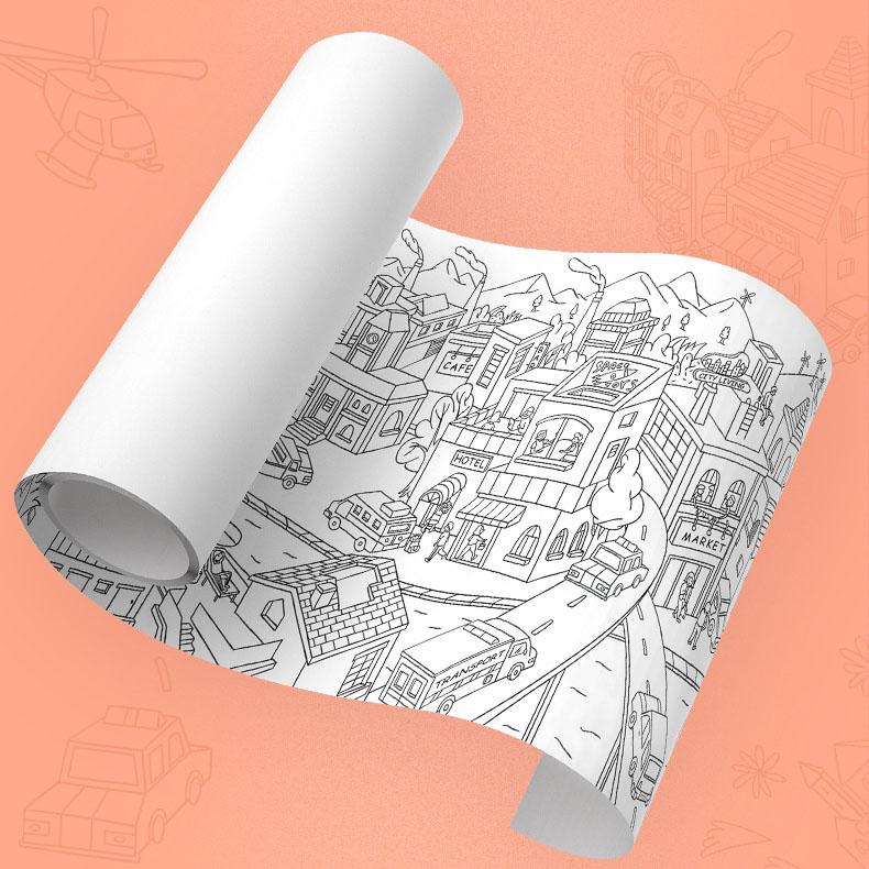 giấy tô màu